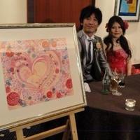 ウェルカムボード☆日本画