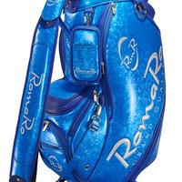 【RomaRo】PRO MODEL CADDIE BAG 9.5 ブルー/シルバー