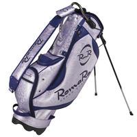 【RomaRo】PRO MODEL CADDIE BAG 8.5パープル/ネイビー
