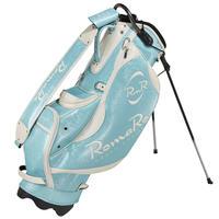 【RomaRo】PRO MODEL CADDIE BAG 8.5エメラルドブルー/ホワイト