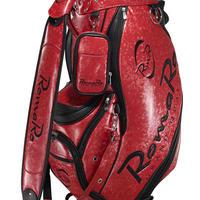 【RomaRo】PRO MODEL CADDIE BAG 9.5 レッド/ブラック