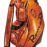 【RomaRo】PRO MODEL CADDIE BAG 9.5 オレンジ/ブラック
