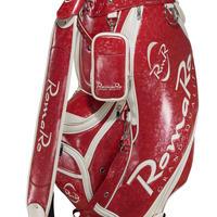 【RomaRo】PRO MODEL CADDIE BAG 9.5 レッド/ホワイト