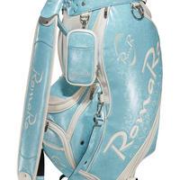 【RomaRo】PRO MODEL CADDIE BAG 9.5 エメラルド/ホワイト