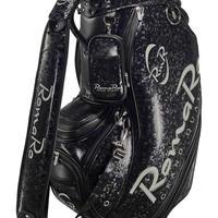 【RomaRo】PRO MODEL CADDIE BAG 9.5 ブラック/シルバー