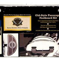 長期在庫・箱壊れの為 特別価格 H-D純正 オールドスタイル・パッセンジャー・フットボードキット