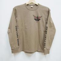 フラットヘッド L/S Tシャツ TLS-127W「RIDE TO LIVE」