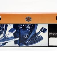 長期在庫・箱壊れの為 特別価格 H-D純正 ビレットスタイル・リデュースリーチ・クローム・リアブレーキレバー
