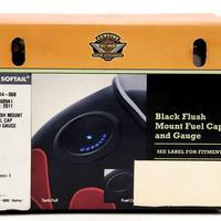 長期在庫・箱壊れの為 特別価格 H-D純正     ブラック・フラッシュマウントフュエルキャップ&ゲージキット