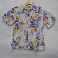 デュークカハナモク ハワイアンシャツ DK37205 「PINAPPLE DELIGHT」