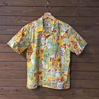 BUZZ RICKSON'S 半袖コットンオープンカラーシャツ「20TH AIR FORCE AIRCRAFT REPAIR UNITS」BR38670