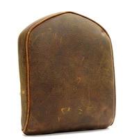 長期在庫・箱無し・小傷有りの為 特別価格 H-D純正 ローバックレストパッド ・ディストレスドブラウンレザー