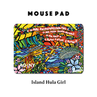 Mouse Pad マウスパッド 〝Island Hula Girl〟