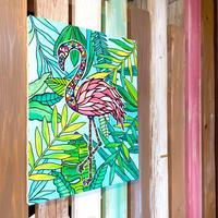 Flamingo  P10号 (530×410 mm)  / Artist ICHI / 原画
