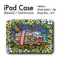 "iPad 手帳型カバー ""Wagen Bus Trip"""