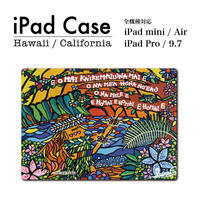 """iPad  手帳型カバー """"Island Hula Girl"""""""