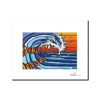 """L判 ArtPrint マットフレーム """"The Beaming Wave"""""""