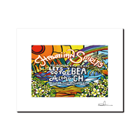 "L判 ArtPrint マットフレーム ""Aloha Spirit"""