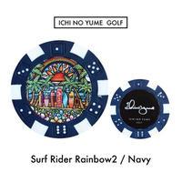 Ichinoyume GOLF カジノマーカー/ゴルフマーカー〝Surf2〟