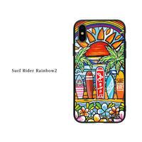 iPhone ガラスハードケース ラウンド型 Surf2
