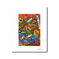 """L判 ArtPrint マットフレーム """"Aloha State Paradise"""""""