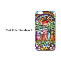 """iPhone 6/7/8/X/XR 対応   ハードケースカバー """"Surf Rider Rainbow2"""""""