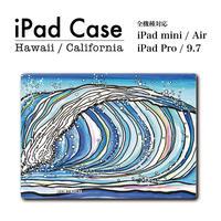 """iPad  手帳型カバー """"The Wave"""""""