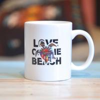 """オリジナルマグカップ """"LOVE ON THE BEACH"""""""