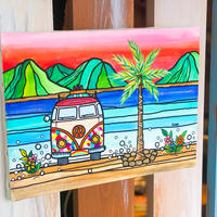 The Beach F4号 (333×242mm) / Artist ICHI / 原画