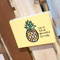 Pineapple  F0号 (180×140 mm) / Artist ICHI / 原画