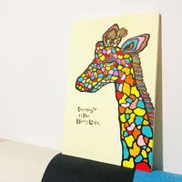 Giraffe  P8号 (455×333 mm)  / Artist ICHI / 原画