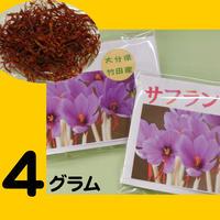 大分県竹田市産 サフラン4g