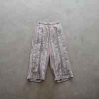 GASA*/ ふたりの木 ジャガードパンツ(Lady's/pale+pink )