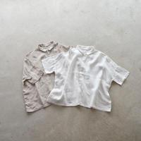 Vlas Blomme /KL Heritage 80 ワイドシャツ (Lady's)
