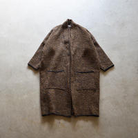 McConnell/ tweed cocoon car coat (Lady's)