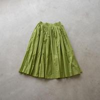 HUIS/ ゆるふわコットンスカート (Lady's/リーフグリーン)