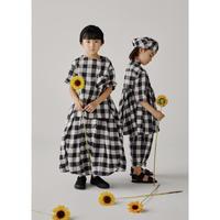 【GRIS】Pullover Big Shirts Black×White(サイズXS、S)