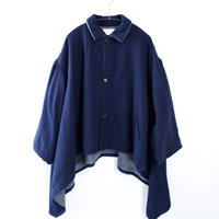 【michirico】 sway coat navy(大人サイズ)