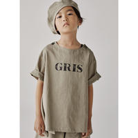 【GRIS】Pullover Big Shirts Grege (サイズXS、S)