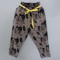 【michirico】Flora and fauna pants(サイズL、XL、XXL)