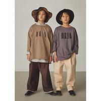 【GRIS】Embroidery Three-quarter T Shirt (サイズXS~L)