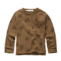 【SPROET&SPROUT】 KIDS T-SHIRT APPLE PRINT