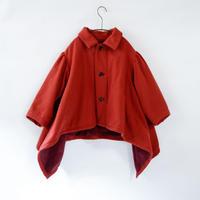 【michirico】sway coat red (サイズS,M)