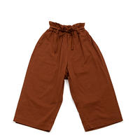 【UNIONINI】big pants (brick brown)