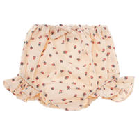 【tocoto vintage】Strawberry print bloomer with ruffles