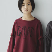【GRIS】Layered Print T Shirts (サイズM、L)