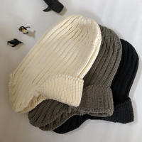 【 MOUN TEN.】knit flight cap