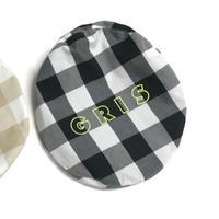 【GRIS】Beret White×Black