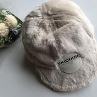 【UNIONINI】fur cap