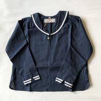 【AU CLAIR DE LA LUNE】セーラーシャツ(longsleeve)